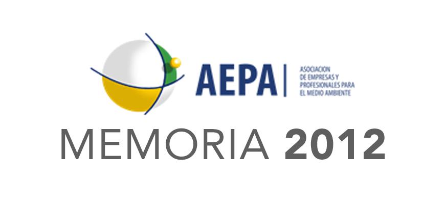 MEMORIA AEPA 2012